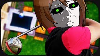 Wir spielen gemeinsam eine Runde Minecraft-Golf! ☆ Golf it!