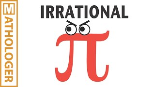 Pi is IRRATIONAL: animation of a gorgeous proof