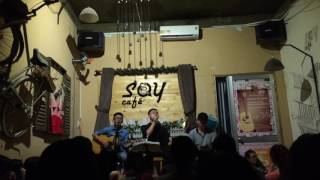 Hẹn một mai|Acoustic cover|Nhật Linh ft guitar Tân Bo ft Khoa Âu cajon|Say Cafe.