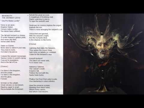 Behemoth - The Satanist (2014) Full album [HD] + lyrics thumb