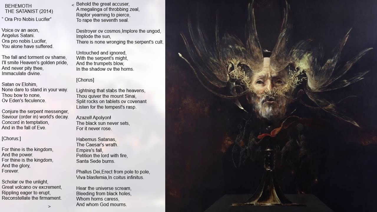 Behemoth The Satanist 2014 Full Album Hd Lyrics