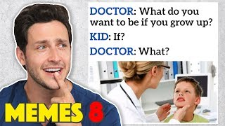 Doctor Reacts to RIDICULOUS Medical Memes #8