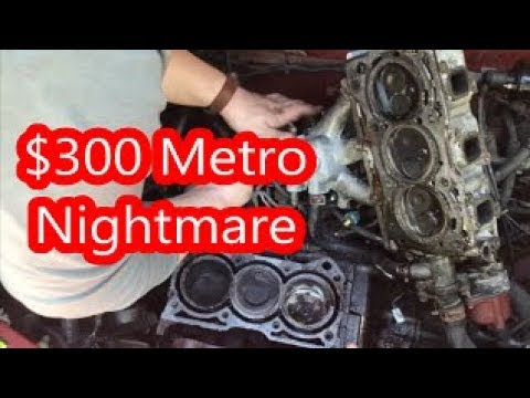 Can The $300 Geo Metro's Engine Be Saved?