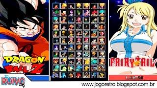Animes All Stars MUGEN 2016 (One Piece / Dragon Ball / POKÉMON / Digimon / Saint Seiya / Yu-Gi-Oh!)