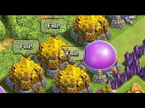 Clash Of Clans Attack By 3 Dragon Level 3 1 Pekka Level 3 22 Minion Level 3
