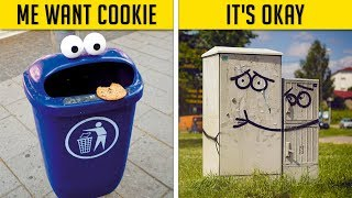 Acts Of Genius Vandalism That Will Make You Smile