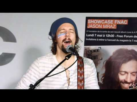 Jason Mraz  You and I Both @ Showcase Fnac Forum des Halles, Paris