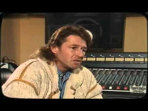 Peter Maffay in der ZDF-Hitparade - Gespräch mit Viktor Worms 1987
