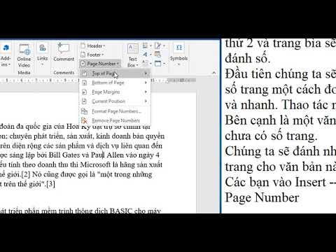 hướng dẫn đánh số trang trong word 2010 - Hướng dẫn cách đánh số trang trong word 2007, 2010, 2013, 2016, 2019