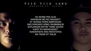 Repeat youtube video Abaddon - Tiis Tiis Lang Ft. Vlync (With Lyrics)