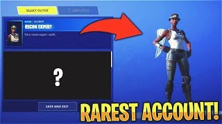 This Fortnite ACCOUNT is Super 'RARE'...
