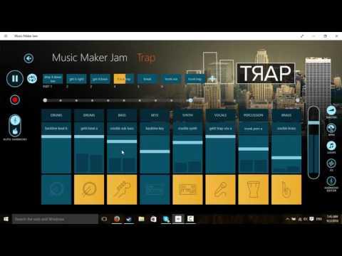 Music maker jam trap