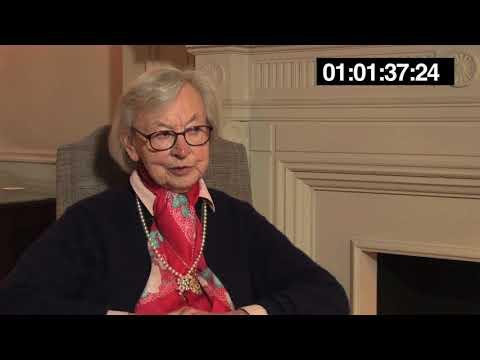 Barbara O'Connell worked at SOE's secret 'Massingham' base in Algeria.