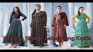 Top 10 Kareena Kapoor Latest Long Kurtis 2018 from SHAURYASTORE