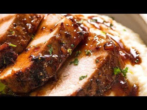 Honey Garlic Pork Tenderloin