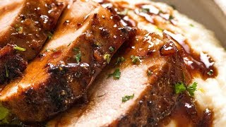 Honey Garlic Pork Tenderloin