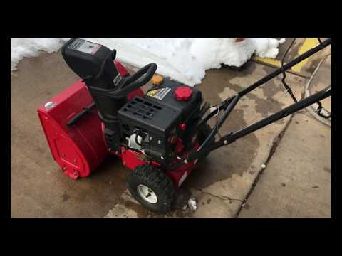 "22"" Yardmachines Snowblower Carburetor Clean"