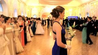 "видео: ""Под небом Парижа"" - котильон с цветком. Оркестр на бал"