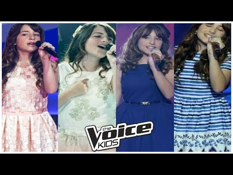 GIULIA SONCINI - Fascinação/ One Last Time/ We Don't Talk Anymore/ Ave Maria (The Voice Kids)