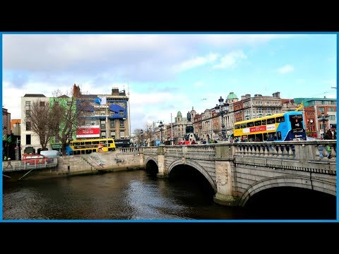 Our First Dublin Sightseeing Trip | Ireland Travel Vlog