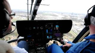 Eurocopter EC-135 P2+ approach, Shreveport Louisiana