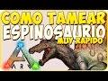ark: survival evolved - Tamear Espinosaurio Muy Rapido