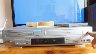 Combo DVD-VHS Samsung