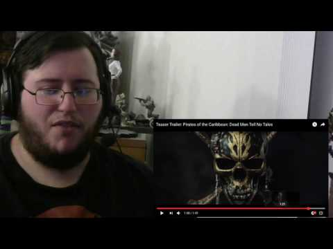 Gors Pirates of the Caribbean: Dead Men Tell No Tales Official Teaser Trailer Reaction/Review