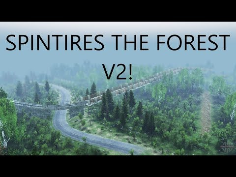 Spintires The Forest V2 Exploration