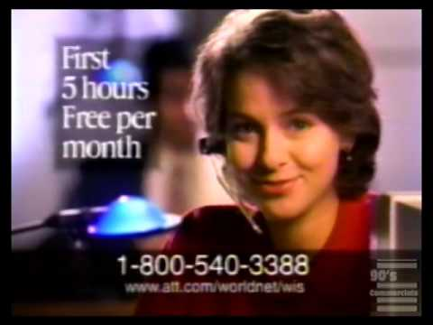 AT&T World Net Commercial circa 1996