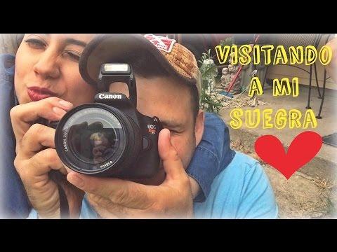 Visitando a mi suegra  Vlog#5