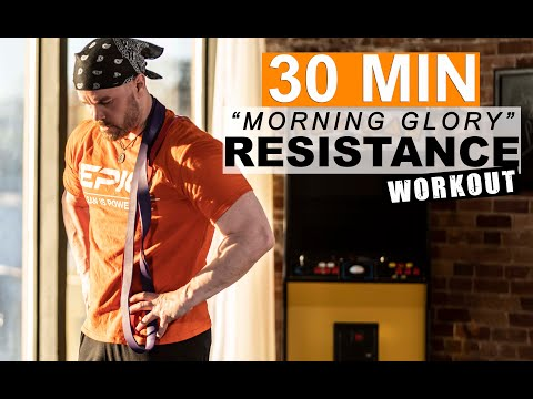 30 MINUTE Total-Body Resistance Band HIIT Workout