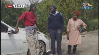 'Test drive' lands Njugush in trouble    Masaibu ya Njugush видео