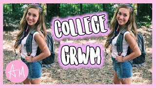 FIRST DAY OF SCHOOL GET READY WITH ME! SOPHOMORE YEAR AT UGA COLLEGE