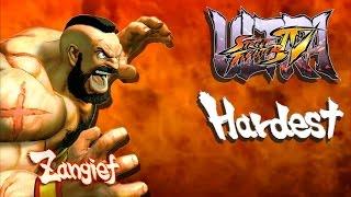 Ultra Street Fighter IV - Zangief Arcade Mode (HARDEST)