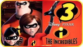 The Incredibles Walkthrough Part 3 (PS2, Gamecube, XBOX, PC) Movie Game Level 3