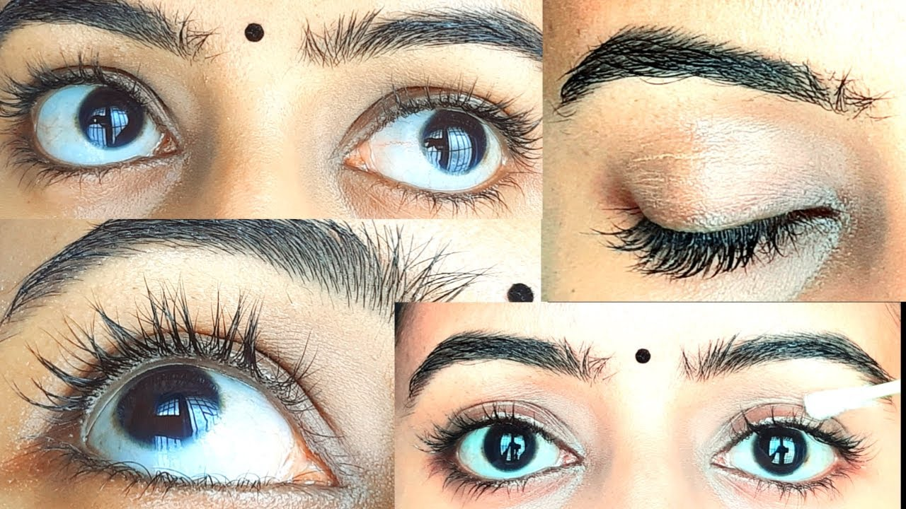 How To Grow Long, Thick Eyelashes & Eyebrows Fast ! Simple ...