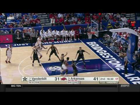 Arkansas vs. Vanderbilt 2017 (SEC Semifinals)