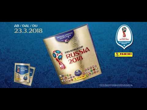 2018 FIFA World Cup Russia™ Sticker Collection - TV spot Switzerland #goldedition #paninisuisse