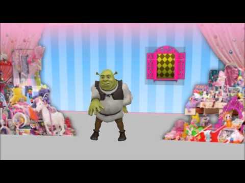 MMD - Shrek Pon Pon Wei Wei