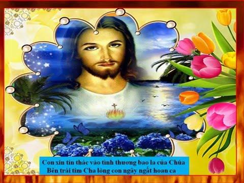 Tín Thác Vào Lòng Thương Xót Chúa - Năm Thánh Lòng Thương Xót