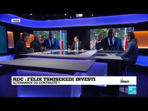 Félix Tshisekedi investi en RDC : alternance ou continuité ?