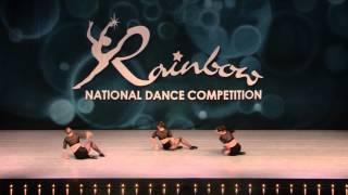 Teen Jazz Dance Trio - Rainbow  Dance Competition