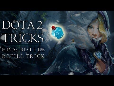 Dota 2 Tricks: Bottle Refill Trick