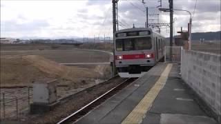 伊賀鉄道200系東急色 伊賀上野ー猪田道