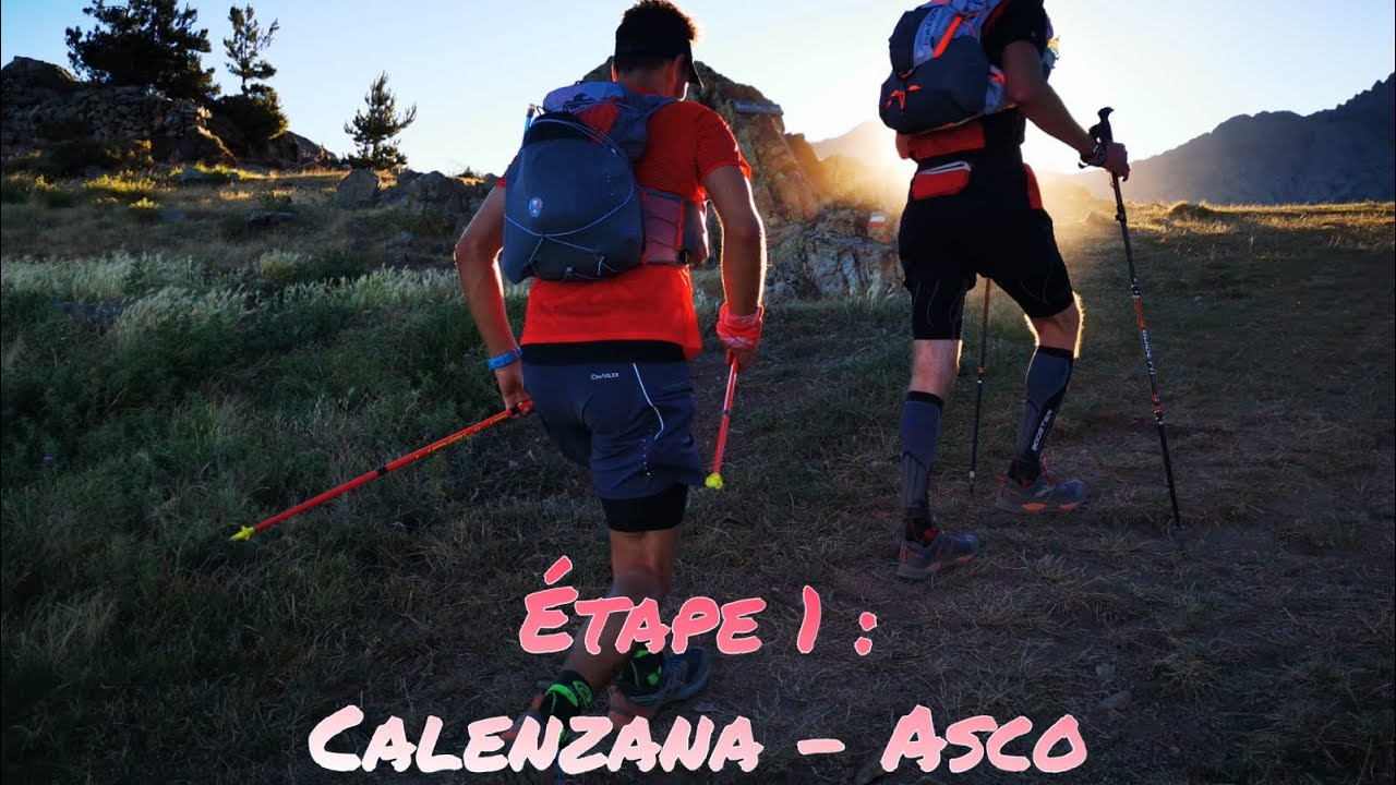 Download LE GR20 EN 5 JOURS : ETAPE 1 CALENZANA - ASCO