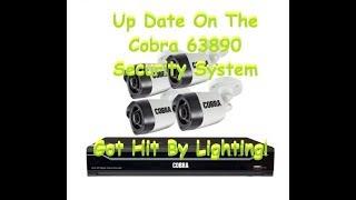 Security Camera Cobra 63890 8 Channel Surveillance Cameras
