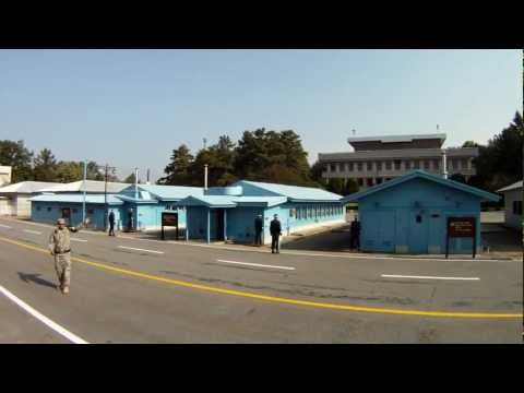 North Korea DMZ Panmunjeom Korea GoPro
