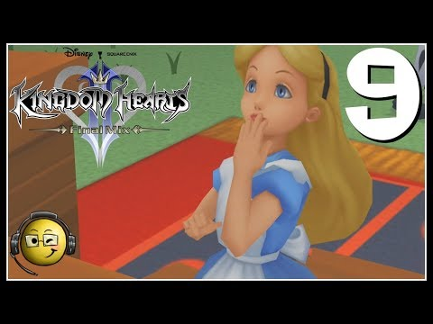 Let's Play Kingdom Hearts HD Final Mix (Blind) Part 9: Alice In Wonderland!
