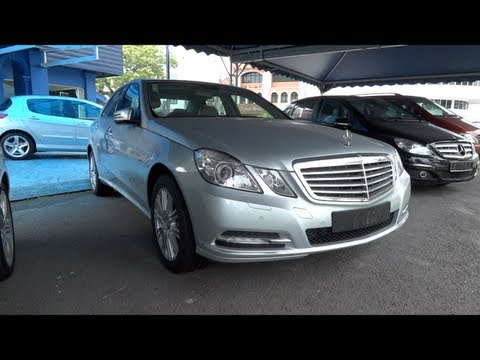 2011 Mercedes-Benz E 200 CGI Start-Up and Full Vehicle Tour